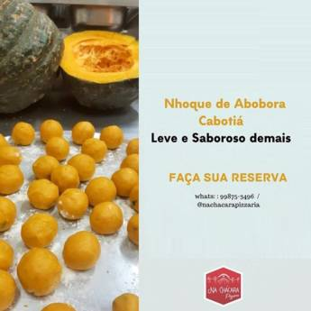 Comprar o produto de Nhoque de Abobora Cabotiá em Nhoque em Botucatu, SP por Solutudo
