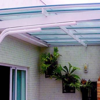 Comprar o produto de Instalação de coberturas em policarbonato em Construção em Birigui, SP por Solutudo