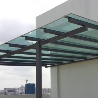 Comprar o produto de Fabricação de coberturas em policarbonato em Construção em Birigui, SP por Solutudo