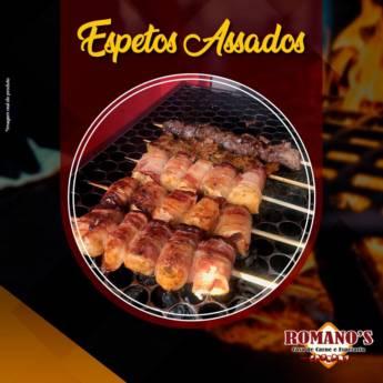 Comprar produto Espetos Assados em Assados pela empresa Romano's Casa de Carnes e Espetaria em Araçatuba, SP