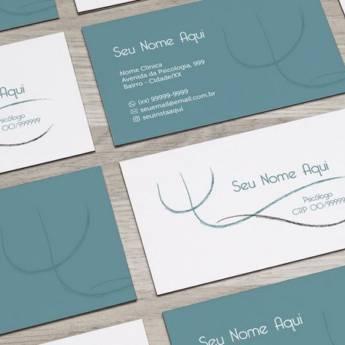 Comprar o produto de Cartão de Visita couche 300g 4x4 Cores  em Comunicação Visual pela empresa Imprime Já Atibaia em Atibaia, SP por Solutudo