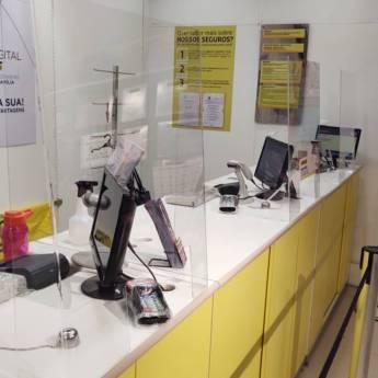 Comprar o produto de Divisória de acrílico  em De Acrílico em Jundiaí, SP por Solutudo