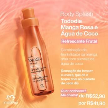 Comprar o produto de Body Splash - Tododia Manga Rosa e Agua de Coco em Perfumes e Fragrâncias pela empresa Lavanderia Mary em Foz do Iguaçu, PR por Solutudo