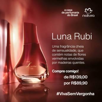 Comprar o produto de Perfume Luna Rubi em Perfumes e Fragrâncias pela empresa Lavanderia Mary em Foz do Iguaçu, PR por Solutudo