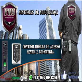 Comprar o produto de Controladoras de Acesso senha e biometria em Outras Fechaduras em Botucatu, SP por Solutudo
