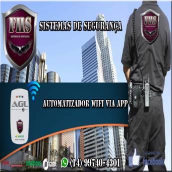 Comprar o produto de Automatizador Wifi Via App em Automatizadores em Botucatu, SP por Solutudo