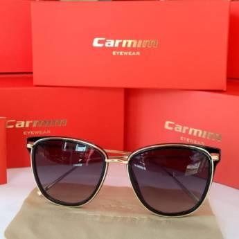 Comprar o produto de Óculos de Sol Feminino Redondo Preto em Feminino em Foz do Iguaçu, PR por Solutudo