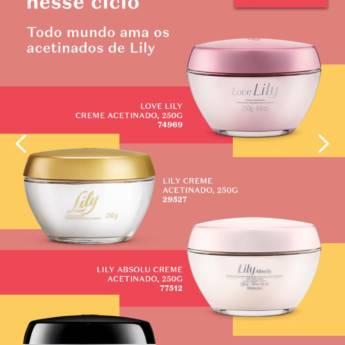 Comprar o produto de Creme Facial Lily Natura em Cosméticos e Cuidado Pessoal pela empresa Lavanderia Mary em Foz do Iguaçu, PR por Solutudo