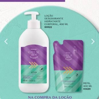 Comprar o produto de Loção Desodorante Hidratante  Corporal  o Boticario em Cosméticos e Cuidado Pessoal pela empresa Lavanderia Mary em Foz do Iguaçu, PR por Solutudo