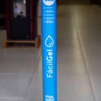 Comprar produto Totem de Álcool em Gel FácilGel Azul em Higiene Pessoal pela empresa FácilGel em Foz do Iguaçu, PR