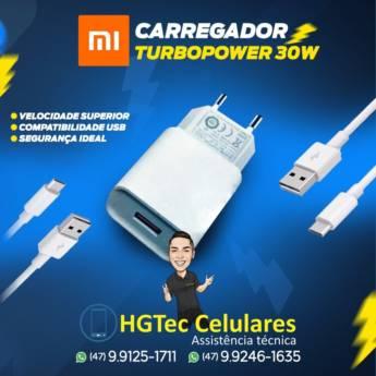 Comprar produto Carregador TurboPower 30W em Acessórios para Celulares pela empresa HGTec Celulares - Jardim Paraíso em Joinville, SC