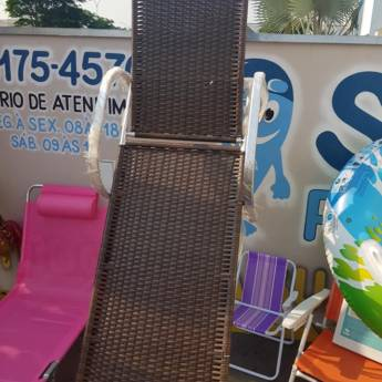 Comprar produto Espreguiçadeiras  em Espreguiçadeira pela empresa SOS Piscinas em Boituva, SP