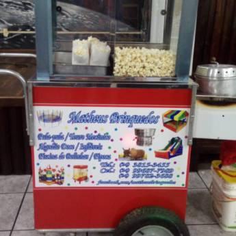 Comprar o produto de Carrinho de Pipoca em Aluguel de Brinquedos em Botucatu, SP por Solutudo