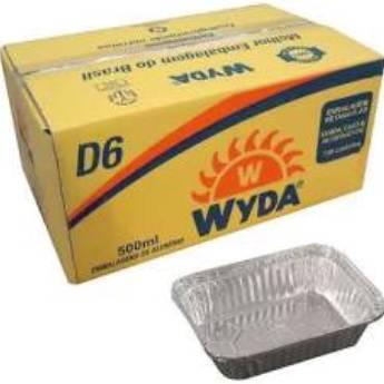 Comprar o produto de Bandeja Alumínio 500g D6 c/100 em A Classificar pela empresa TRESKOS em Botucatu, SP por Solutudo