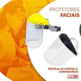 Comprar o produto de Máscara de Proteção Facial em Proteção Facial em Birigui, SP por Solutudo