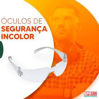 Comprar o produto de Óculos de segurança incolor em Proteção visual em Birigui, SP por Solutudo