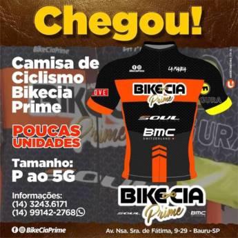 Comprar produto Camisa de Ciclismo em Ciclismo pela empresa Bike Cia Prime - Jardim América em Bauru, SP