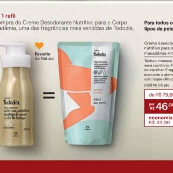 Comprar o produto de Pronta Entrega - Creme Desodorante Nutritivo Natura Todo Dia em Cosméticos e Cuidado Pessoal pela empresa Lavanderia Mary em Foz do Iguaçu, PR por Solutudo