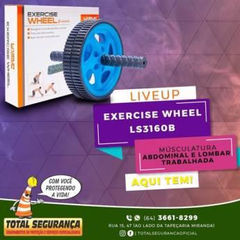 Comprar o produto de Roda De Exercicio Wheel Plus R.Ls3160B em Aparelhos de Ginástica pela empresa Total Segurança em Mineiros, GO por Solutudo