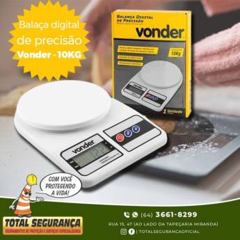 Comprar o produto de Balança Digital Compacta em Balanças pela empresa Total Segurança em Mineiros, GO por Solutudo