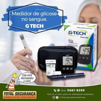 Comprar o produto de Medidor de Glicose G-Tech Free Lite em Saúde pela empresa Total Segurança em Mineiros, GO por Solutudo