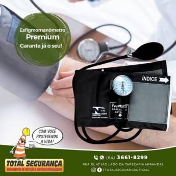 Comprar o produto de Esfigmomanômetros Premium em Medidores de Pressão pela empresa Total Segurança em Mineiros, GO por Solutudo