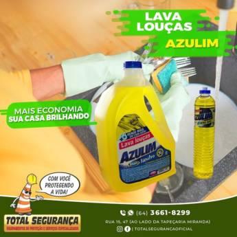 Comprar o produto de Azulim lava louças em Produtos de Limpeza pela empresa Total Segurança em Mineiros, GO por Solutudo