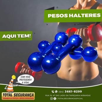 Comprar o produto de Halteres em Anilhas e Halteres pela empresa Total Segurança em Mineiros, GO por Solutudo