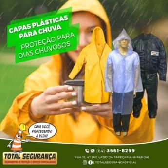 Comprar o produto de Capas Plásticas para Chuva em Capas de Chuva pela empresa Total Segurança em Mineiros, GO por Solutudo