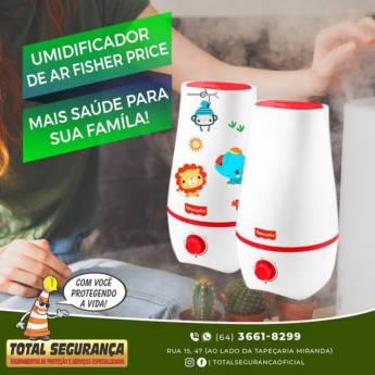 Comprar o produto de Umidificador de ar da Fisher Price em Umidificador pela empresa Total Segurança em Mineiros, GO por Solutudo