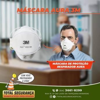 Comprar o produto de Máscara Aura 3M em Máscaras pela empresa Total Segurança em Mineiros, GO por Solutudo