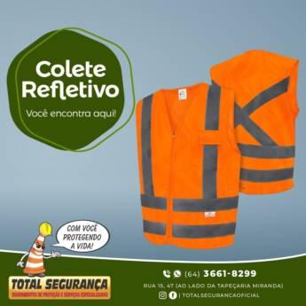 Comprar o produto de Colete Refletivo em Equipamentos de Segurança pela empresa Total Segurança em Mineiros, GO por Solutudo
