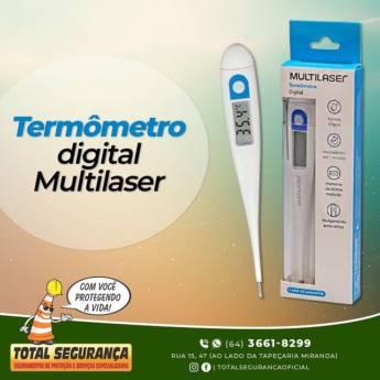 Comprar o produto de Termômetro Digital Multilaser em Termômetros pela empresa Total Segurança em Mineiros, GO por Solutudo