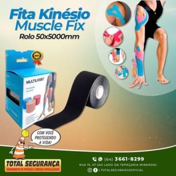 Comprar o produto de Fita Kinésio Muscle Fix em Adesivos e Fitas pela empresa Total Segurança em Mineiros, GO por Solutudo