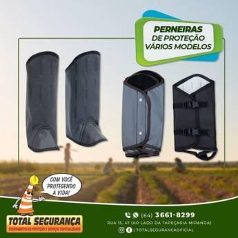 Comprar o produto de Perneiras de proteção em Perneiras pela empresa Total Segurança em Mineiros, GO por Solutudo