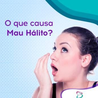 Comprar produto O que causa Mau Hálito? em Odontologia pela empresa Odonto Barão em Itatiba, SP