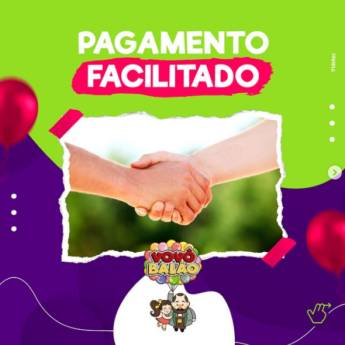 Comprar produto Pagamento Facilitado em Tudo para Festas  pela empresa Vovô Balão em Botucatu, SP