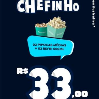 Comprar o produto de Combo Poderoso Chefinho em Alimentos e Bebidas em Foz do Iguaçu, PR por Solutudo