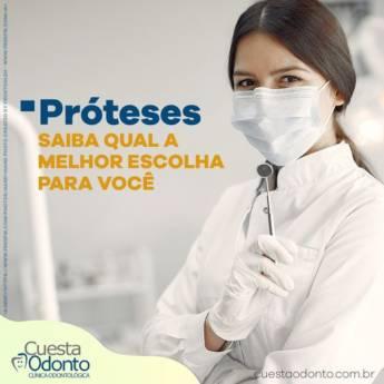 Comprar o produto de Qual a melhor prótese para mim? em Odontologia pela empresa Cuesta Odonto - Rodrigo Gustavo Paixão CRO/SP 105736 - CRO/SP CL: 13914 em Botucatu, SP por Solutudo