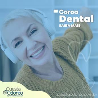 Comprar o produto de coroa dental em Odontologia em Botucatu, SP por Solutudo