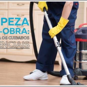 Comprar o produto de limpeza pós - obra em Limpeza Pós-Obra em Botucatu, SP por Solutudo