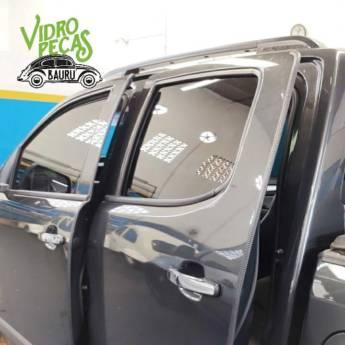 Comprar o produto de Instalação de borracha de proteção de borda de porta do veículo em Acessórios de Carros pela empresa VidroPeças em Bauru, SP por Solutudo