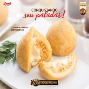 Comprar o produto de Coxinha de Frango com Requeijão em Doces e Sobremesas em Botucatu, SP por Solutudo