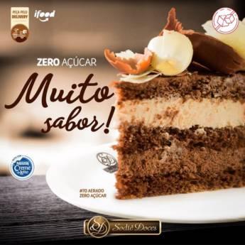 Comprar o produto de  Zero Açúcar em Doces e Sobremesas em Botucatu, SP por Solutudo