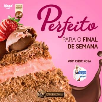 Comprar o produto de Choc Rosa delicioso em Doces e Sobremesas em Botucatu, SP por Solutudo