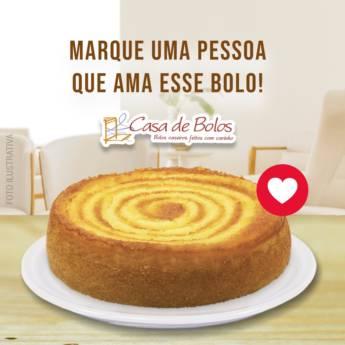 Comprar produto  Bolo de Milho com Requeijão em Cafeterias pela empresa Casa de Bolos - Loja 1 em Botucatu, SP
