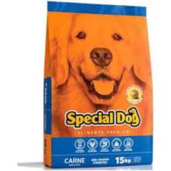 Comprar o produto de Special Dog Carne  em Ração para Cachorros pela empresa Agrocamp Produtos Agropecuários em Botucatu, SP por Solutudo