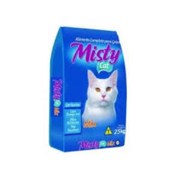 Comprar o produto de Ração Misty Cat peixe  em Ração para Gatos em Botucatu, SP por Solutudo