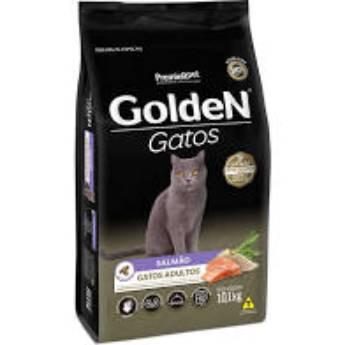 Comprar o produto de Ração Golden Gatos Salmao em Ração para Gatos em Botucatu, SP por Solutudo