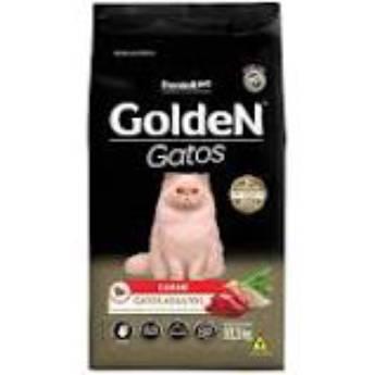 Comprar o produto de Ração Golden Gatos Carne em Ração para Gatos em Botucatu, SP por Solutudo